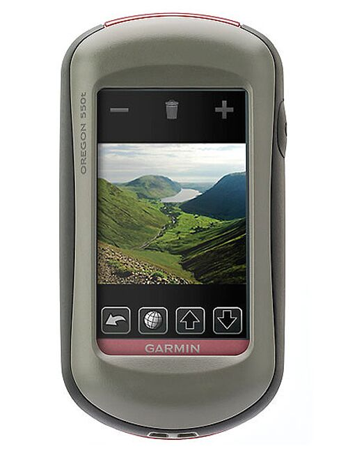 MB Garmin Oregon 550t