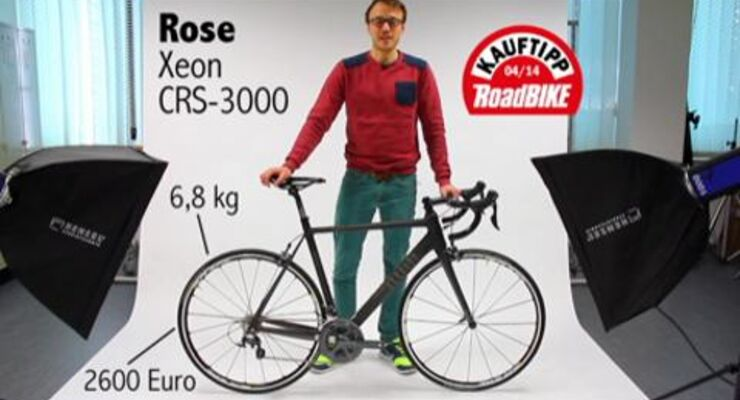 RoadBIKE Test 04/2014: Rose Xeon CRS-3000
